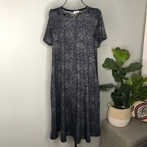 NWOT LulaRoe Jessie Palm Leaves Dress- S